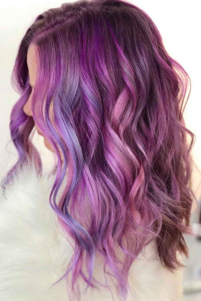 Two-Toned Hair In Pastel Colors