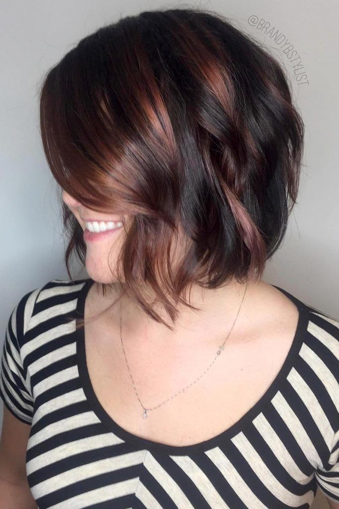 Short Bob With Simple Layers