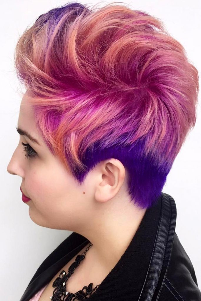 Short Layered Hair For a Grunge Girl