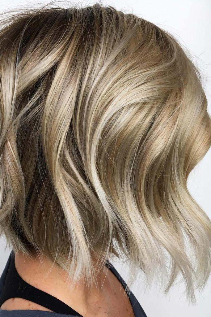 Inverted Medium Bob Haircuts