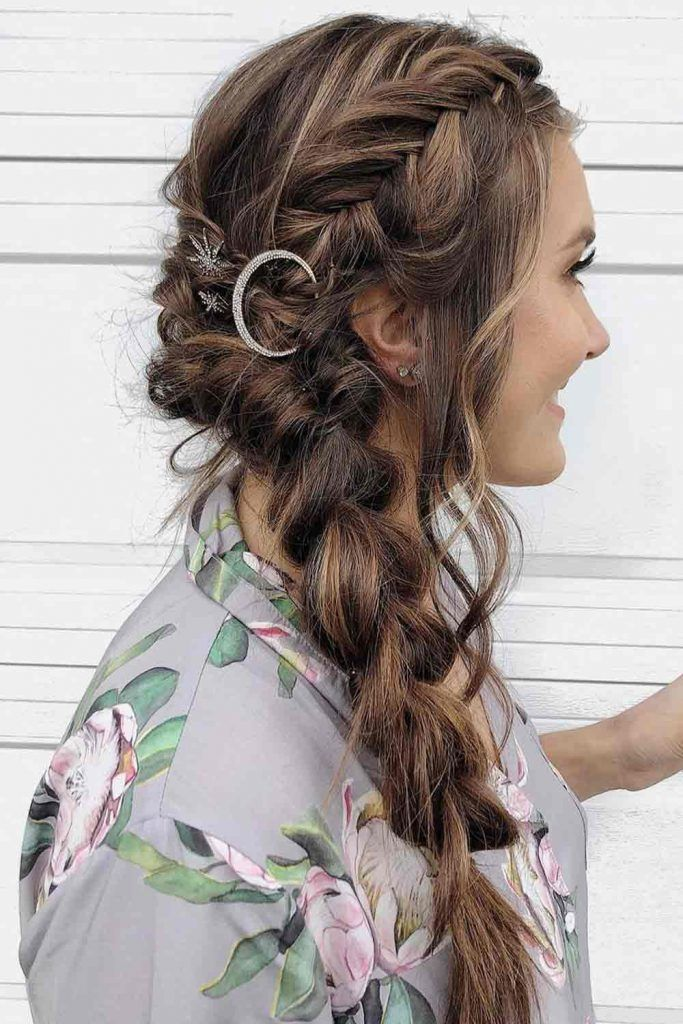 Braided Styles With Rings