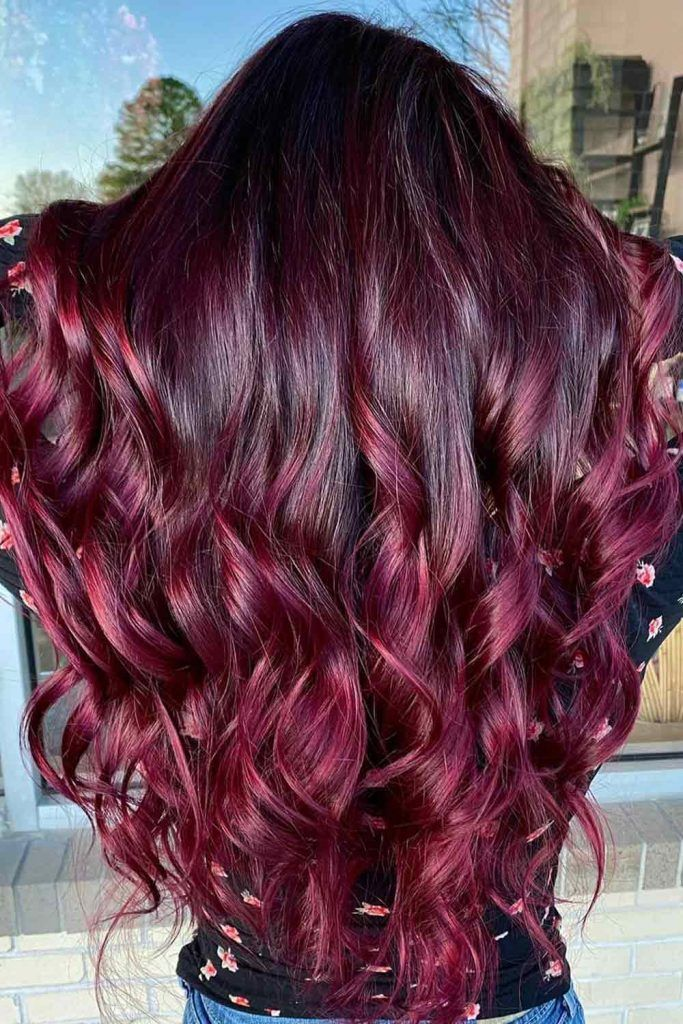 What Skin Tone Is Best For Burgundy Hair?
