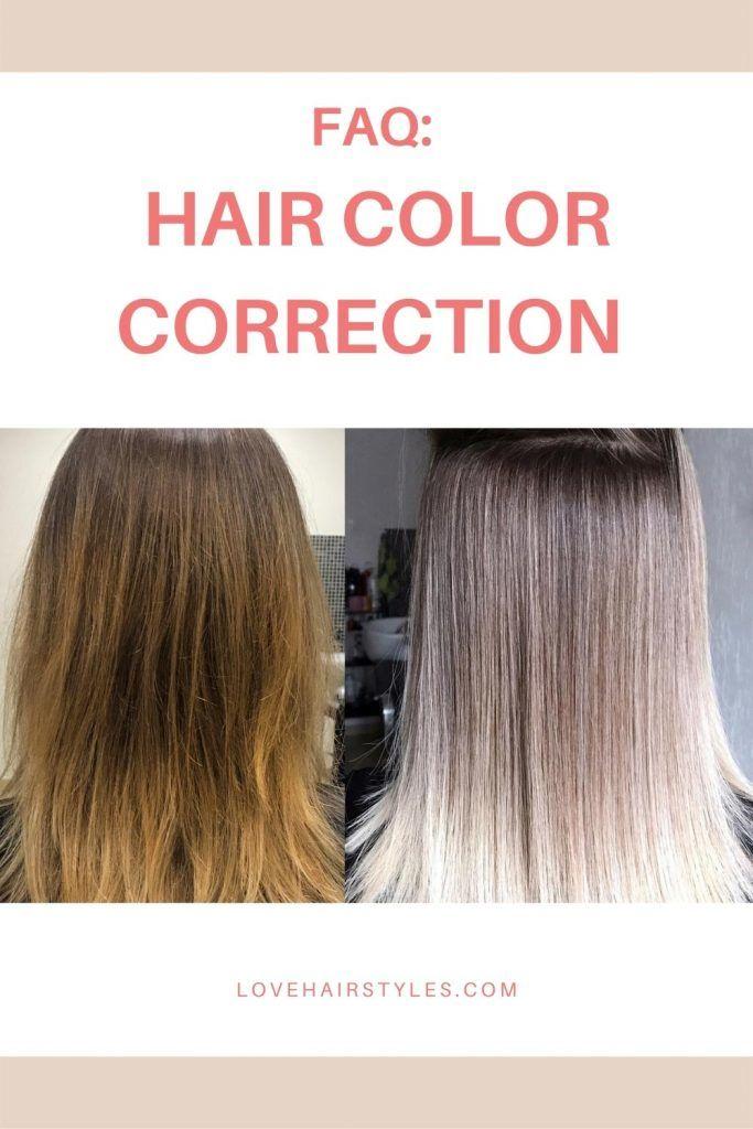 FAQ: Color Correction Hair Technique