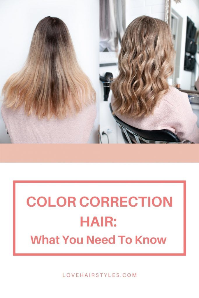 What Is Hair Color Correction?