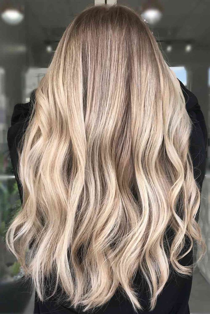 Extra Long Dirty Blonde Hair With Lowlights