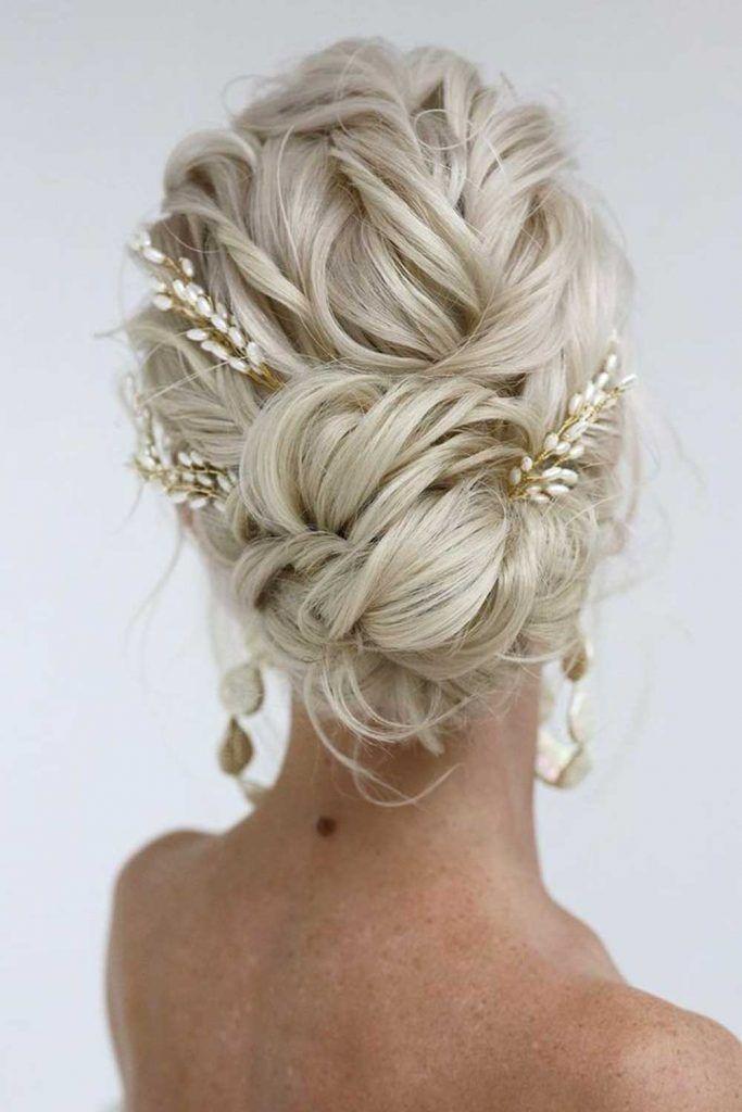 Lovely Braided Bun Hairstyle