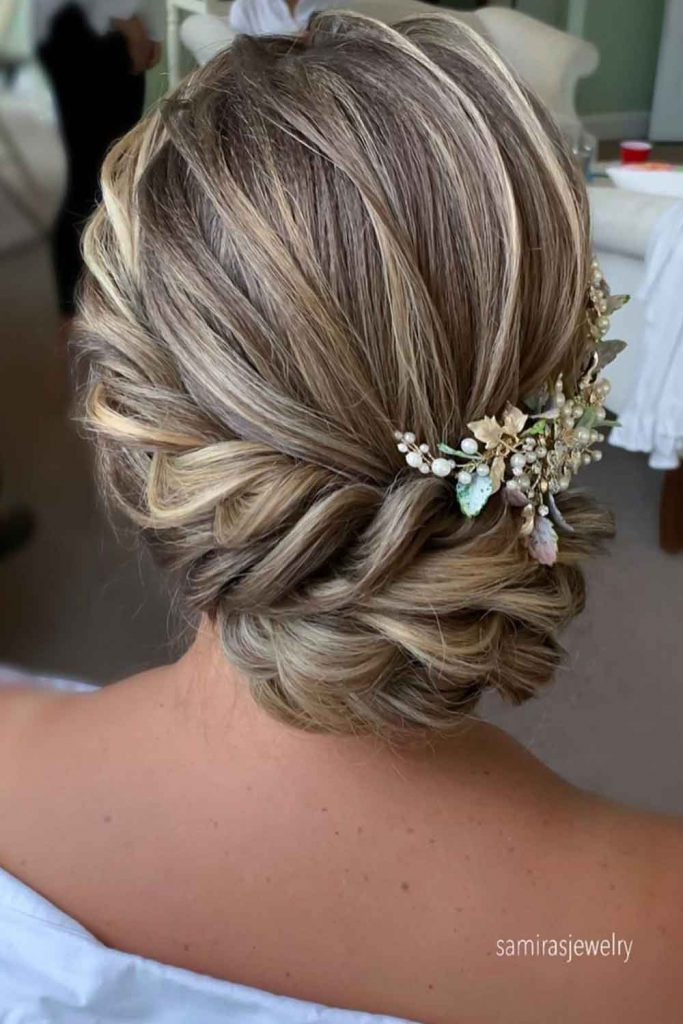 Messy Twisted Updo Hairstyles