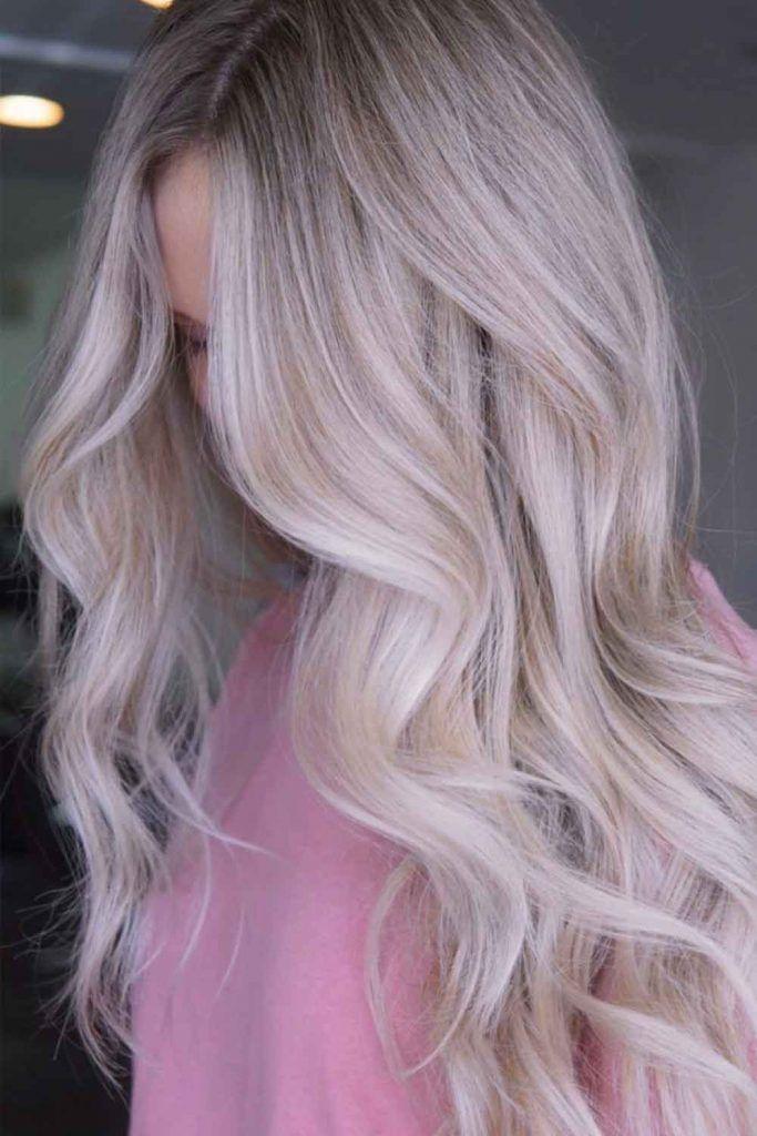 Icy Vanilla Hair