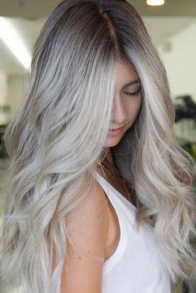 Mind-Blowing Platinum Blonde Hair