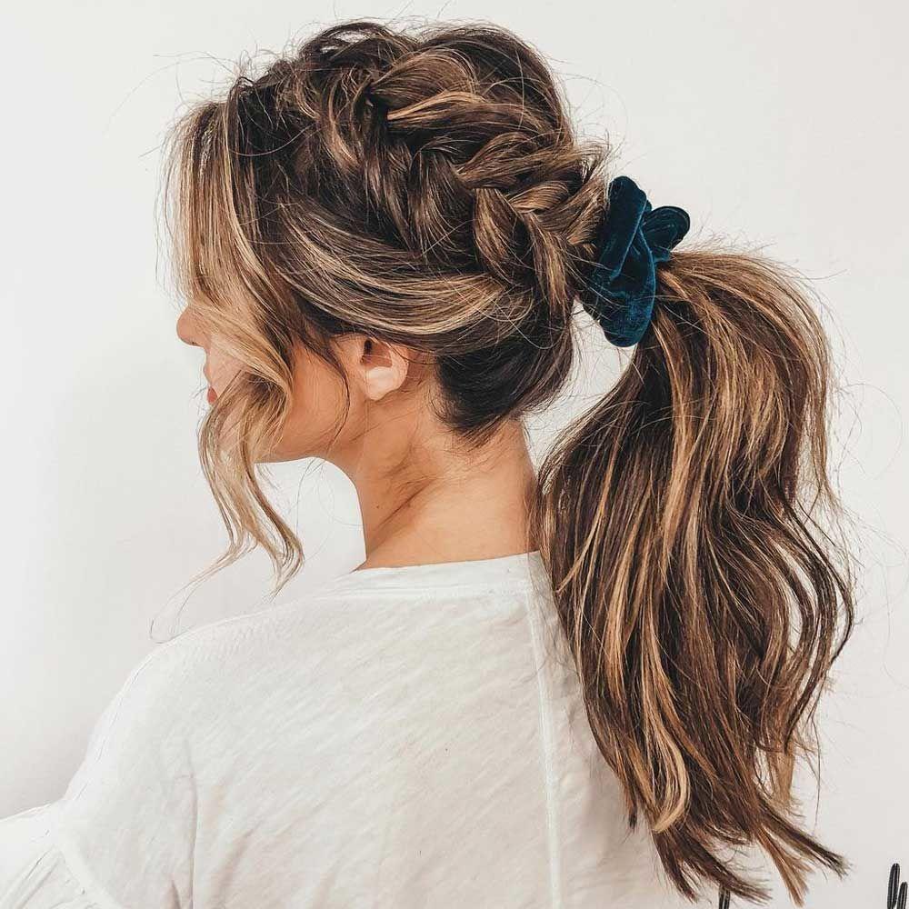 Ponytails for Medium Hair Length