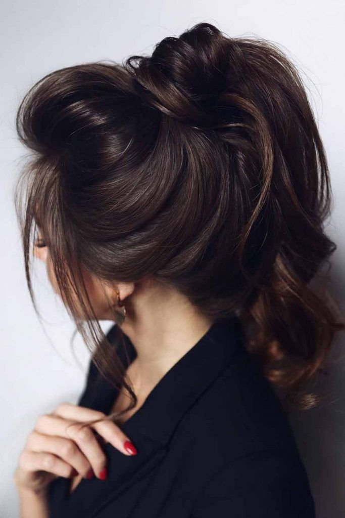 Simple And Cute Messy Ponytail