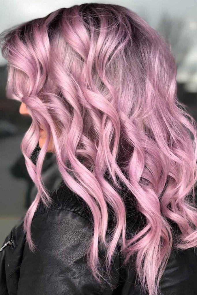 Blossom Purple Hair