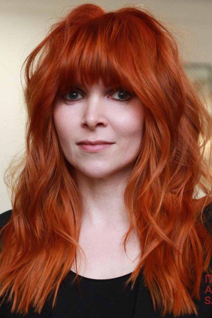 Dark Ginger Hair