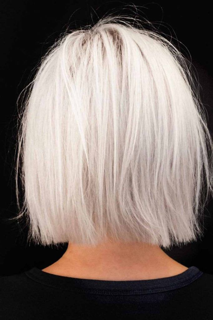 >Blonde Bob For Straight Hair