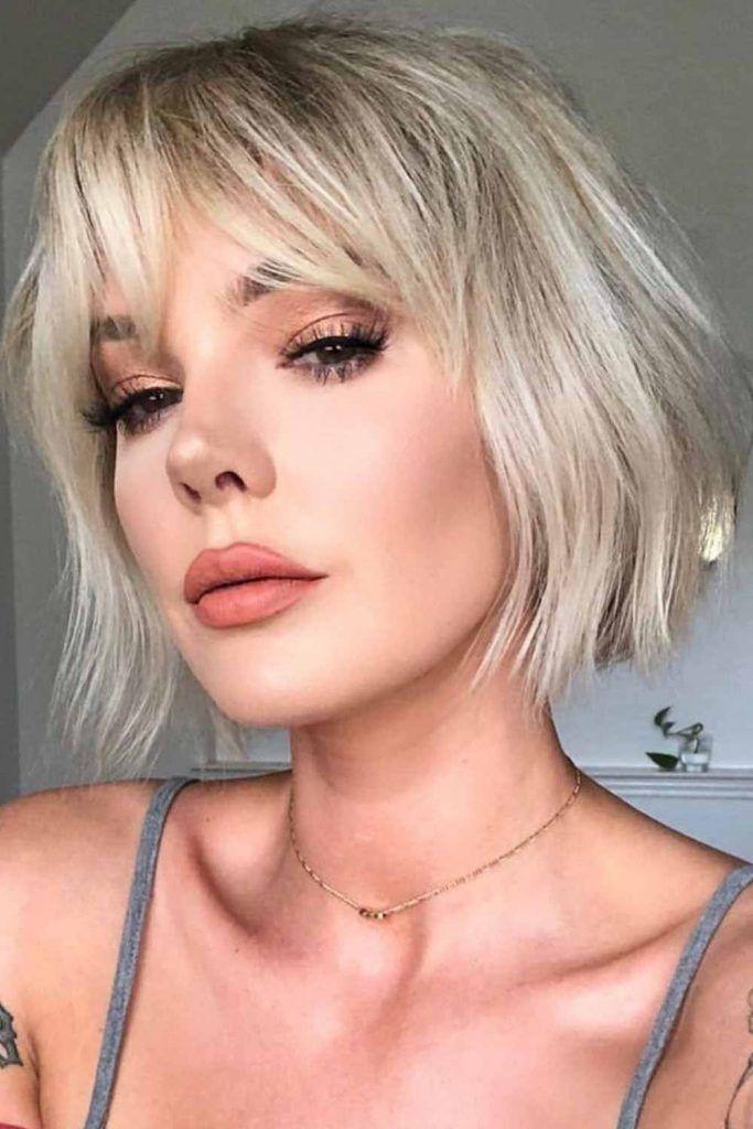 Perfect Platinum Blonde Hair Color