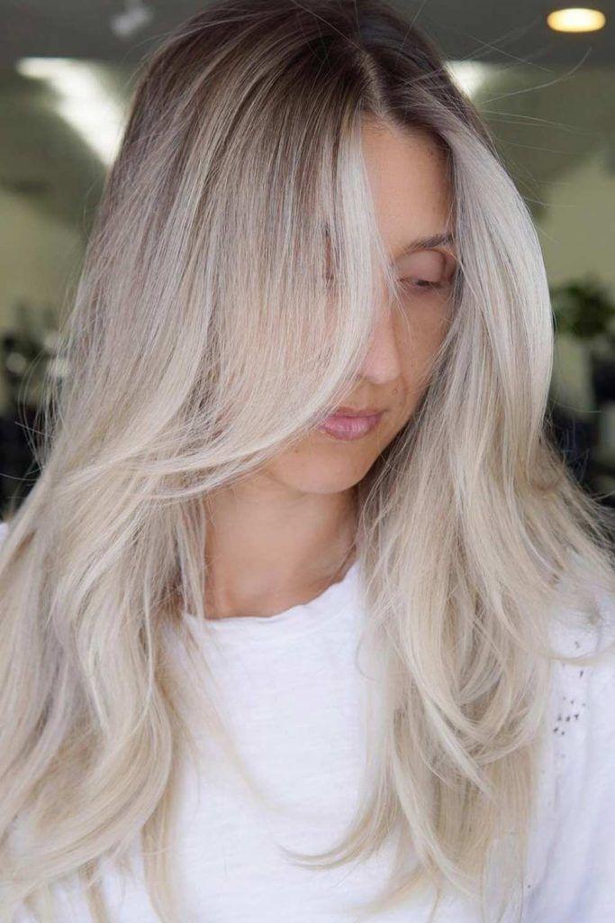 Platinum Blonde Dye Variations: Balayage, Highlights, Ombre