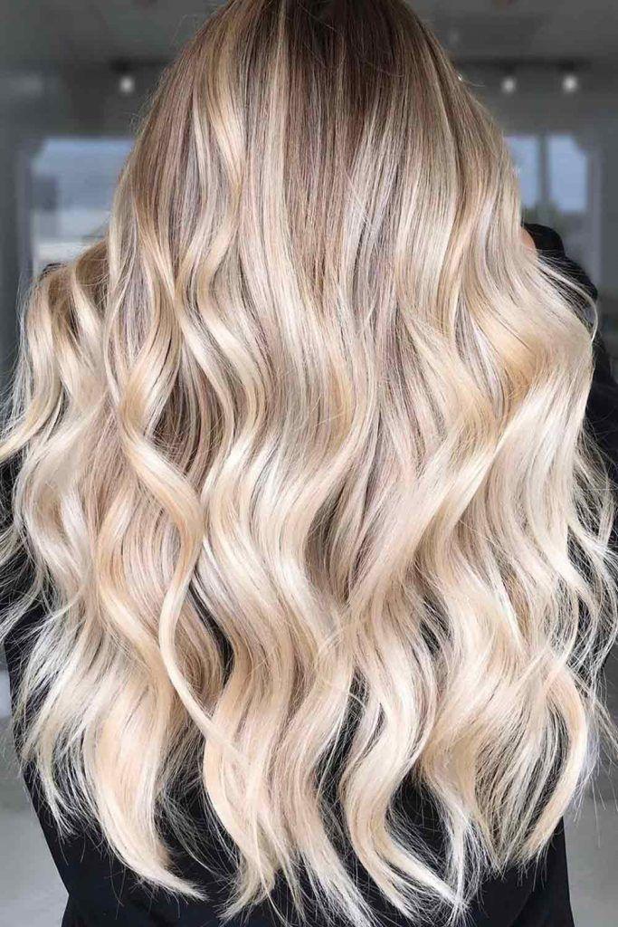 Platinum Blonde Hair With Honey Blonde Highlights