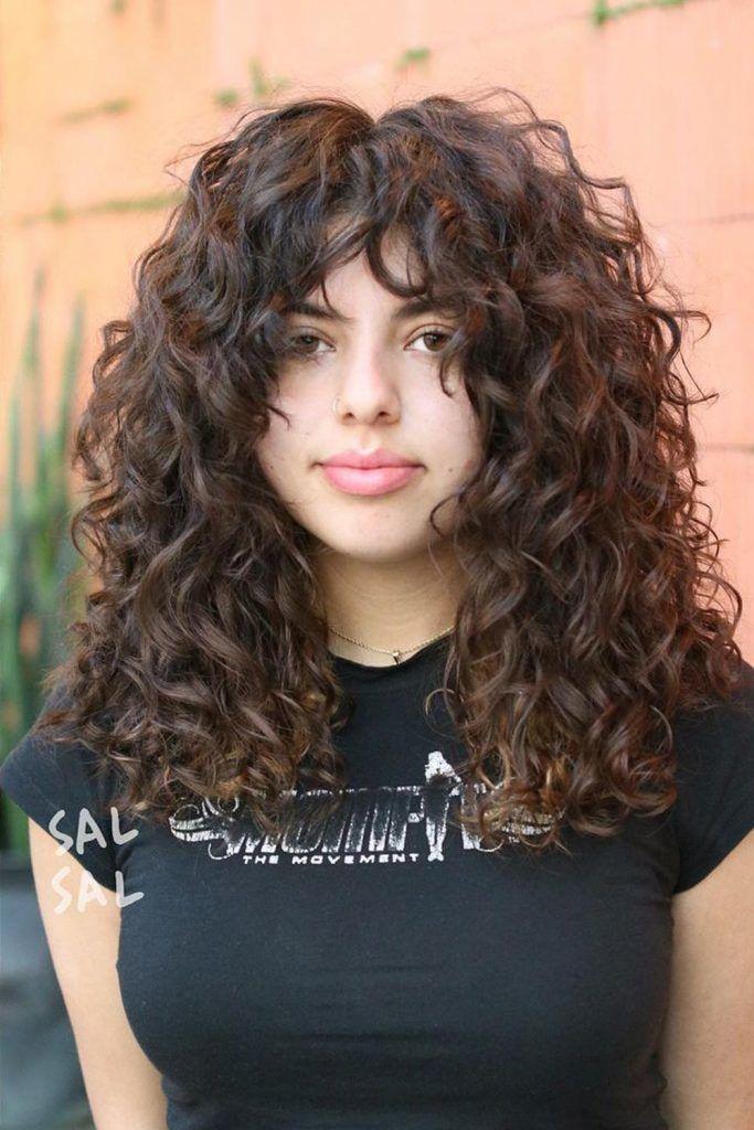 Stunning Curly Shag