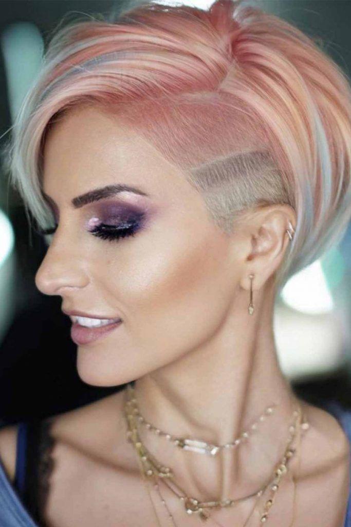 Peachy Glow-Up Hair