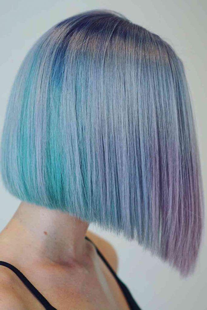 Silver Sky Blue Hair