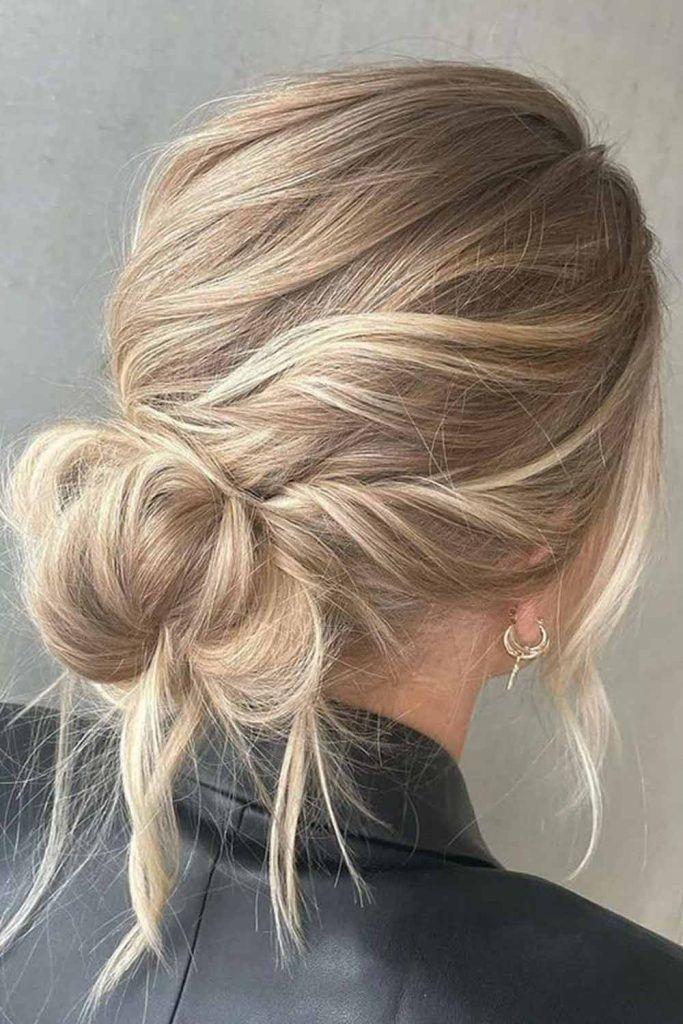Buns For Wavy Hair