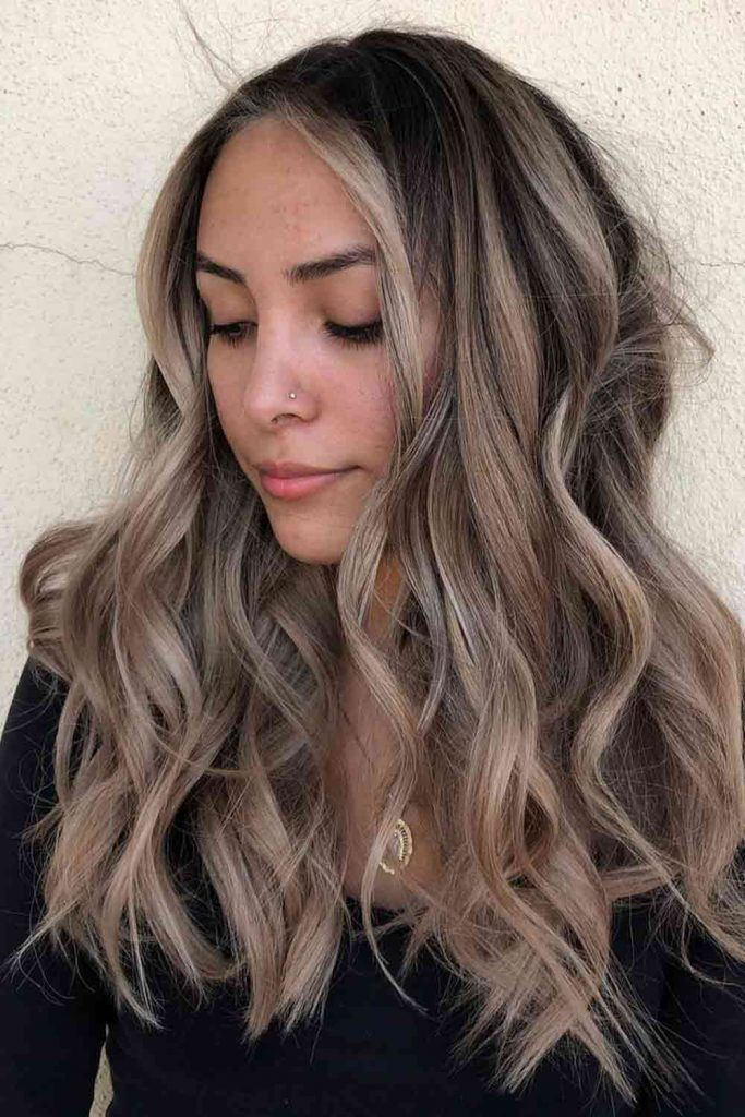 Coffee Brown Ombre