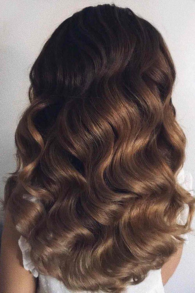 Brown To Cinnamon Balayage Hair
