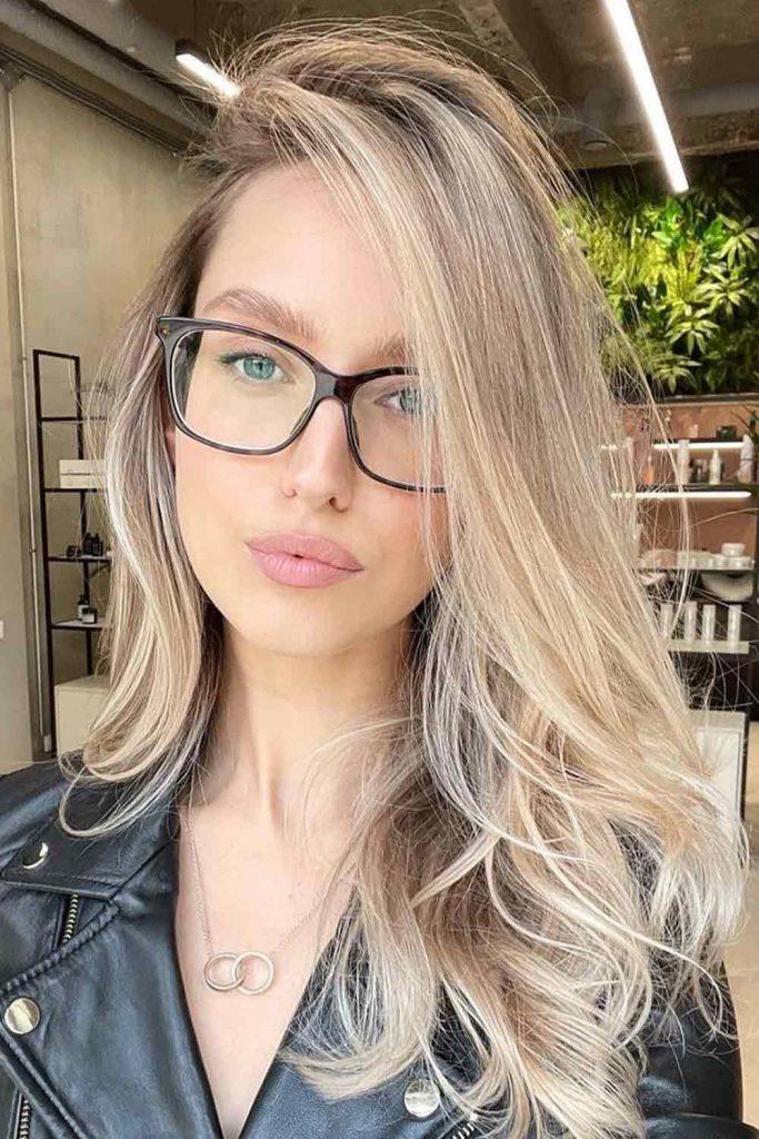 Cool Toned Brown To Blonde Balayage