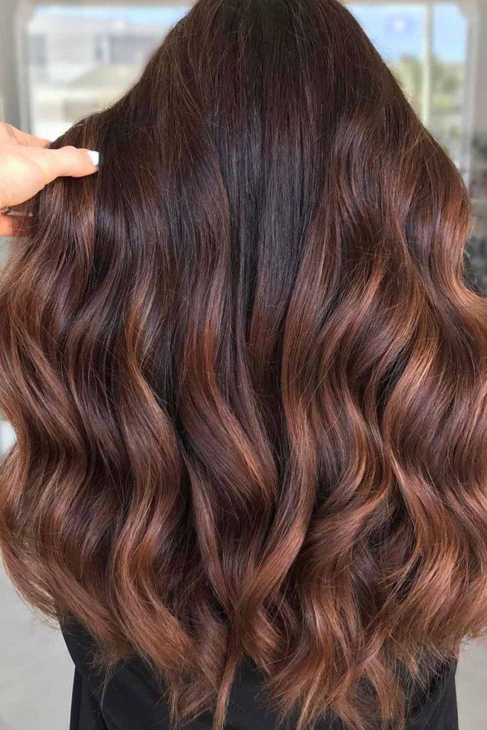 Cinnamon Brown Hair