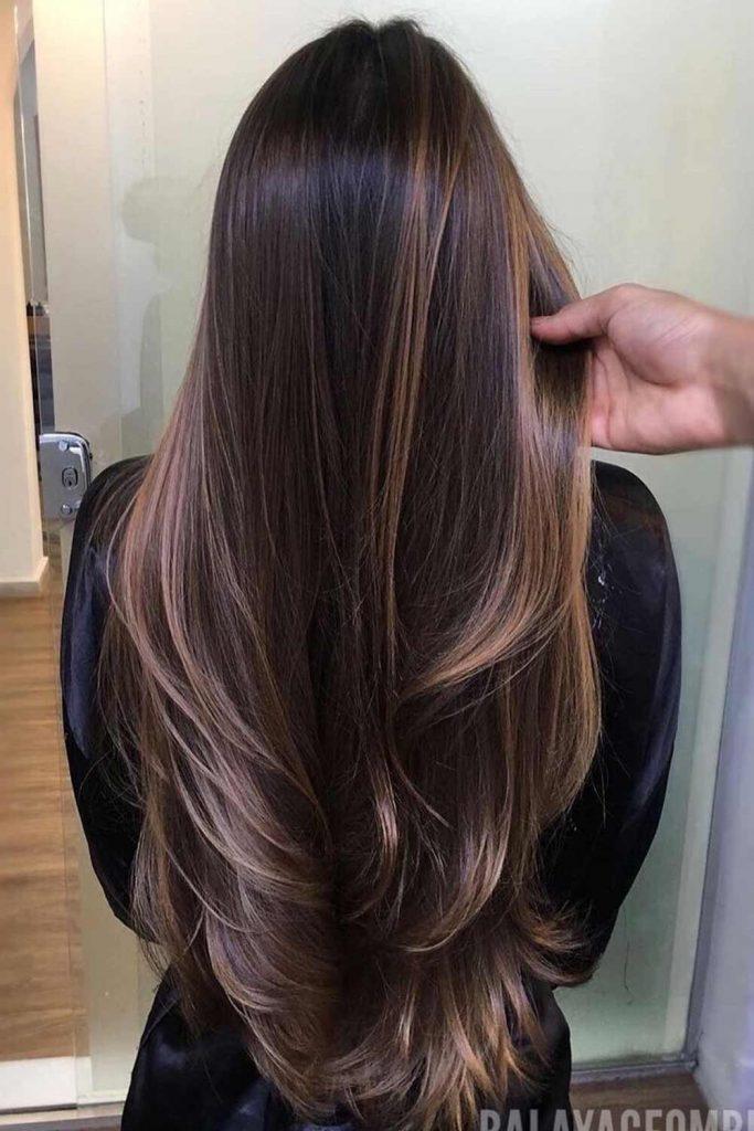 Dark Chocolate Hair