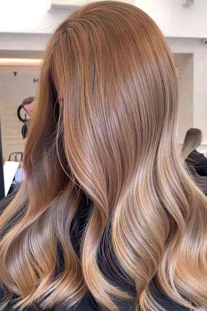 Light Caramel Hair