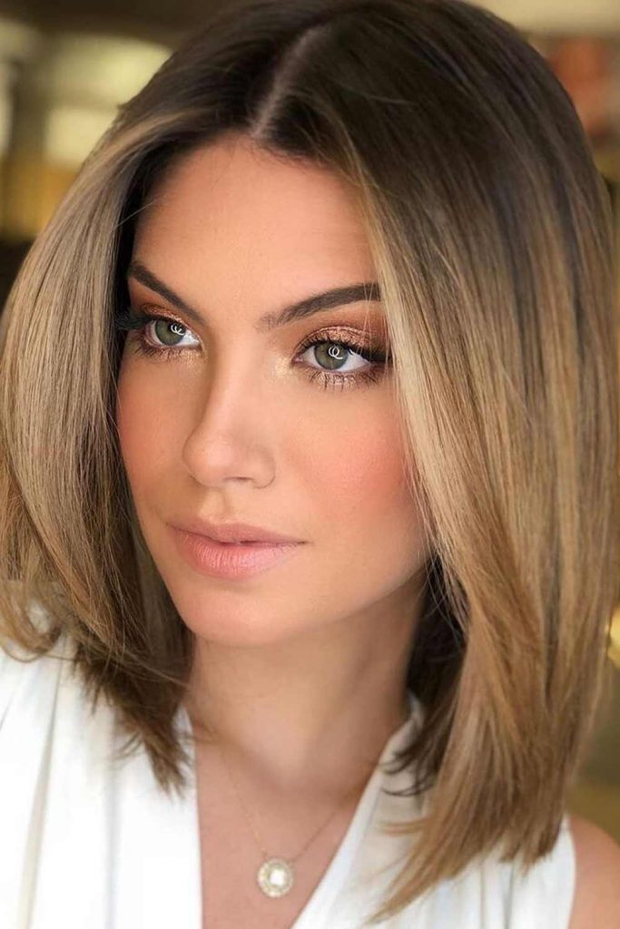 Light Brown Copper Hair