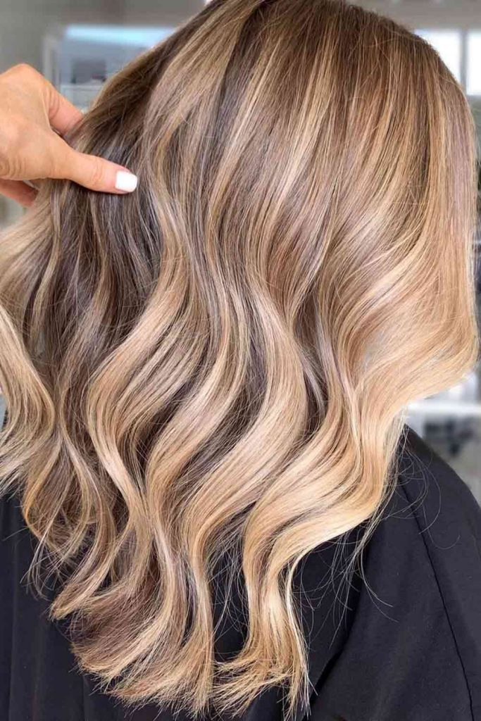 Sunkissed Brown Hair