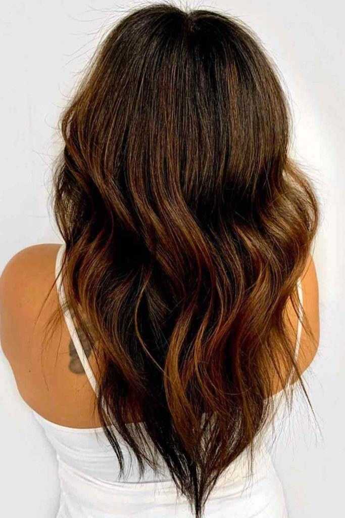 Chocolate Dark Brown Hair Color