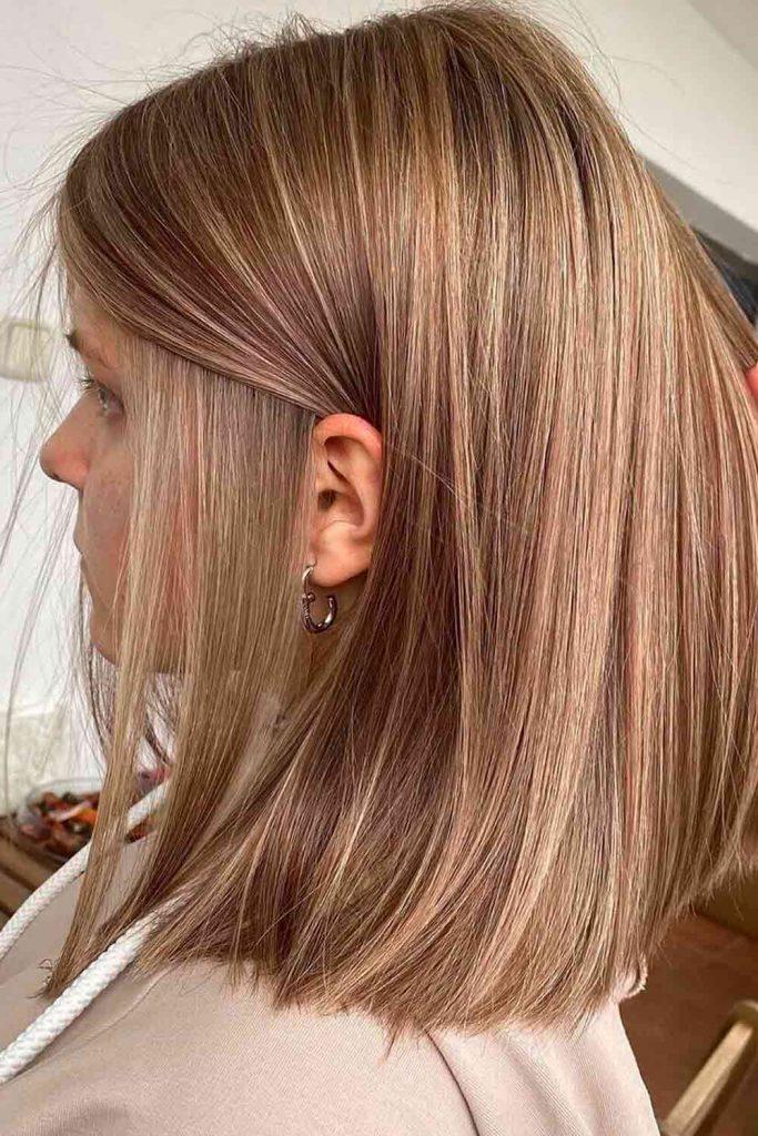 Light Brown Hair In Golden Tones
