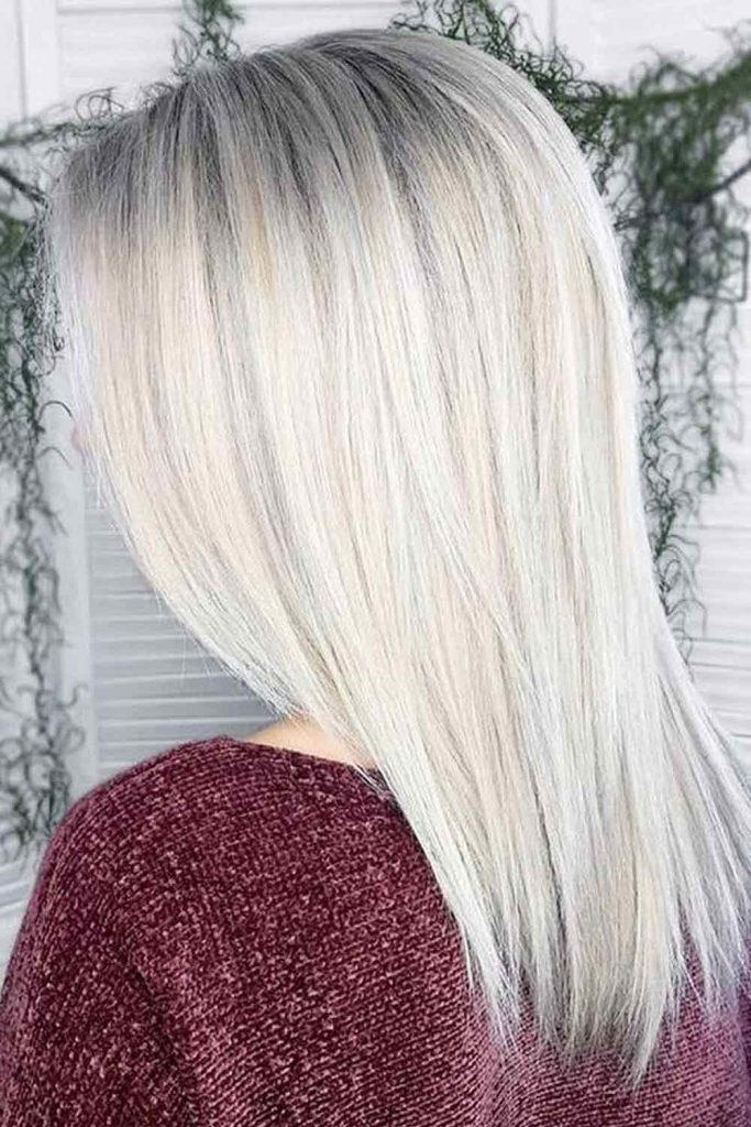 Silky Layers For Straight Hair
