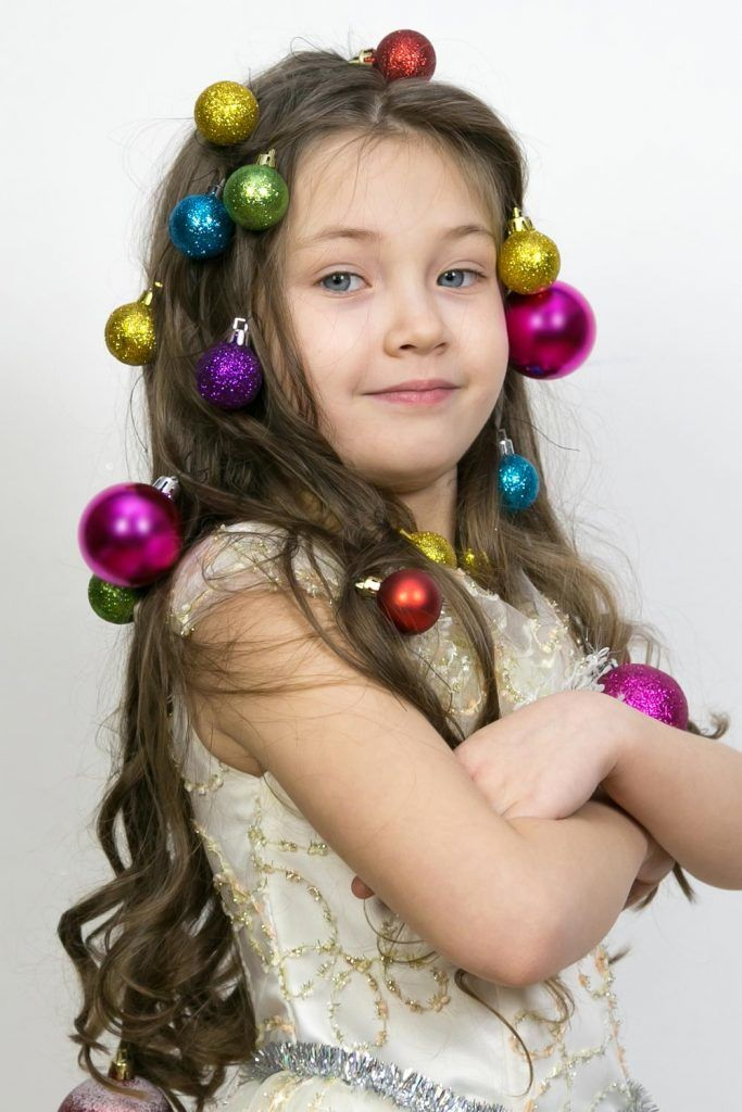 Christmas Mood for Crazy Day Hair