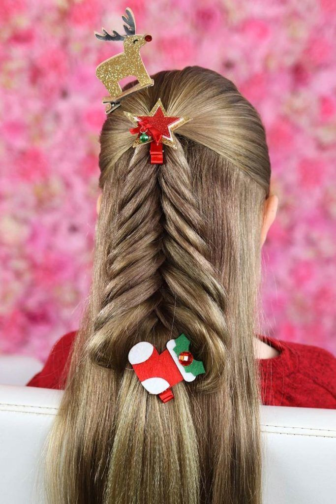 Christmas Tree Mood for Crazy Day Hair