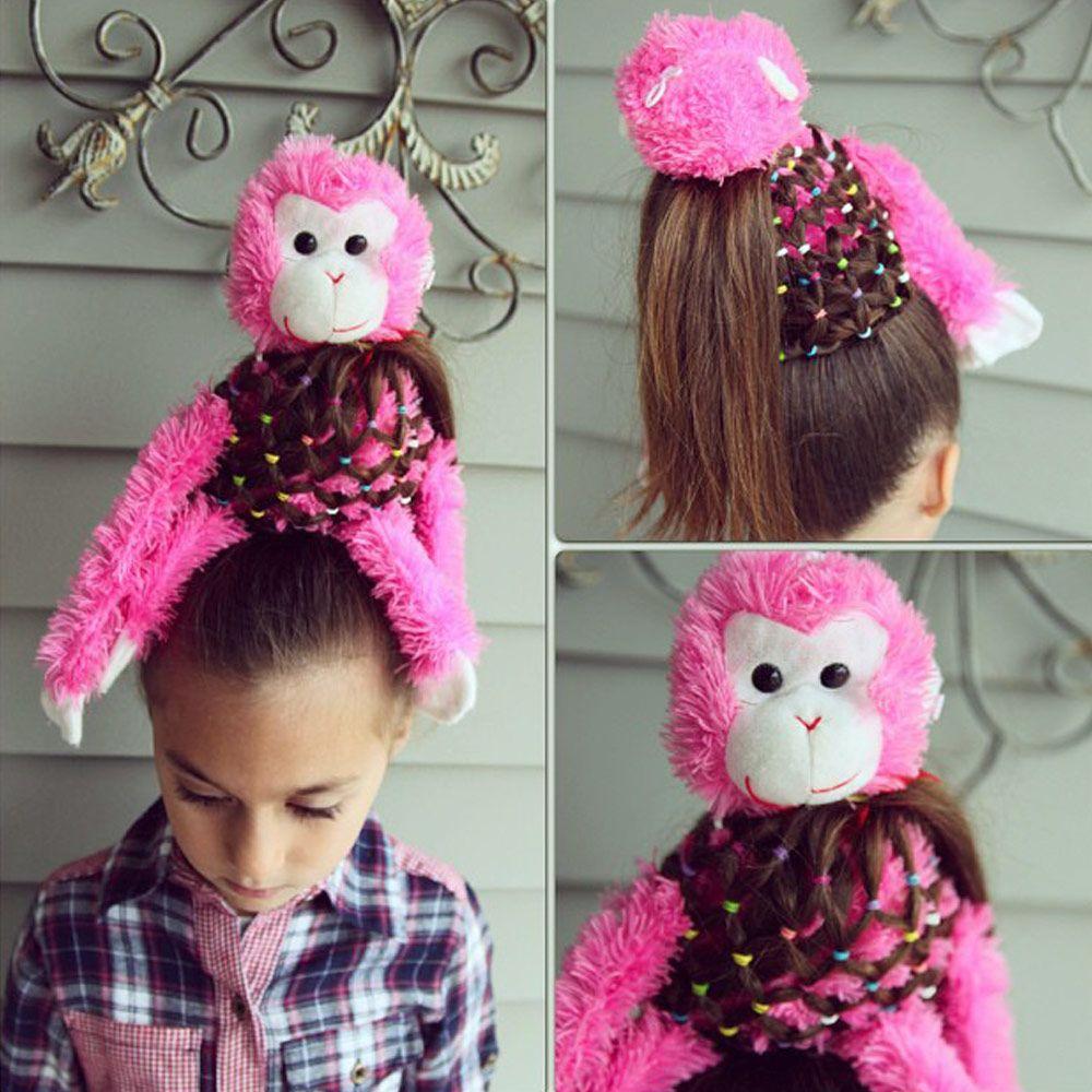 Crazy Monkey Hair Style