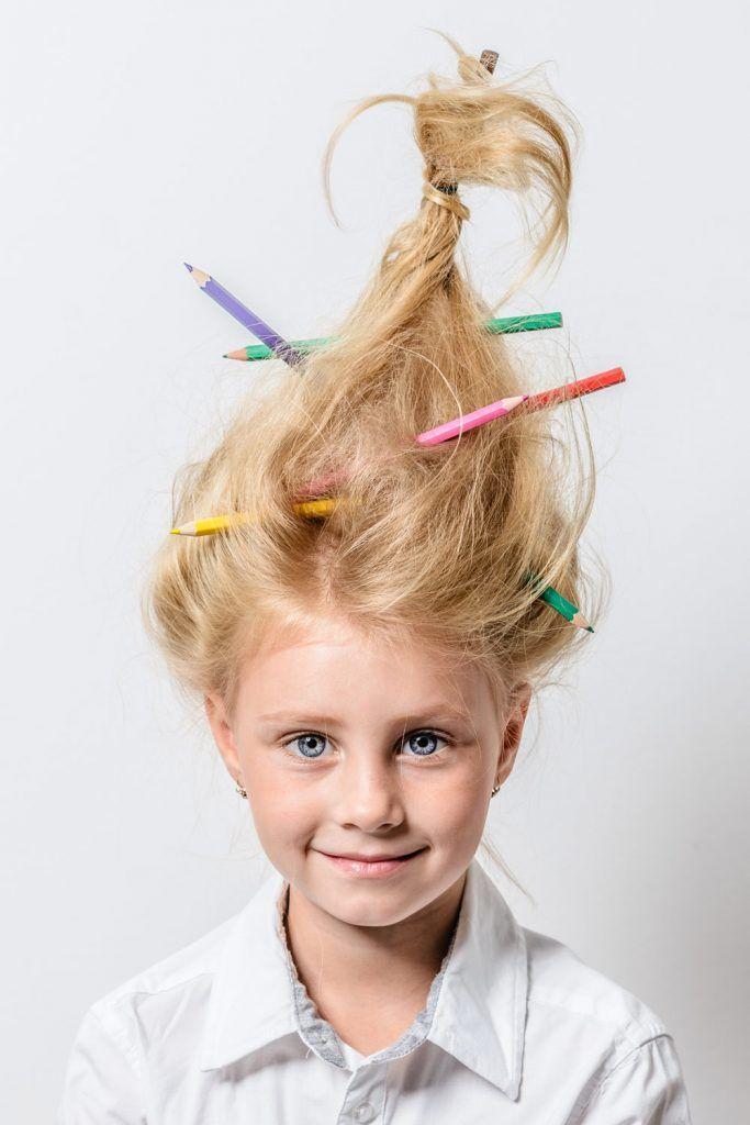 Messy School Crazy Hair Vibes