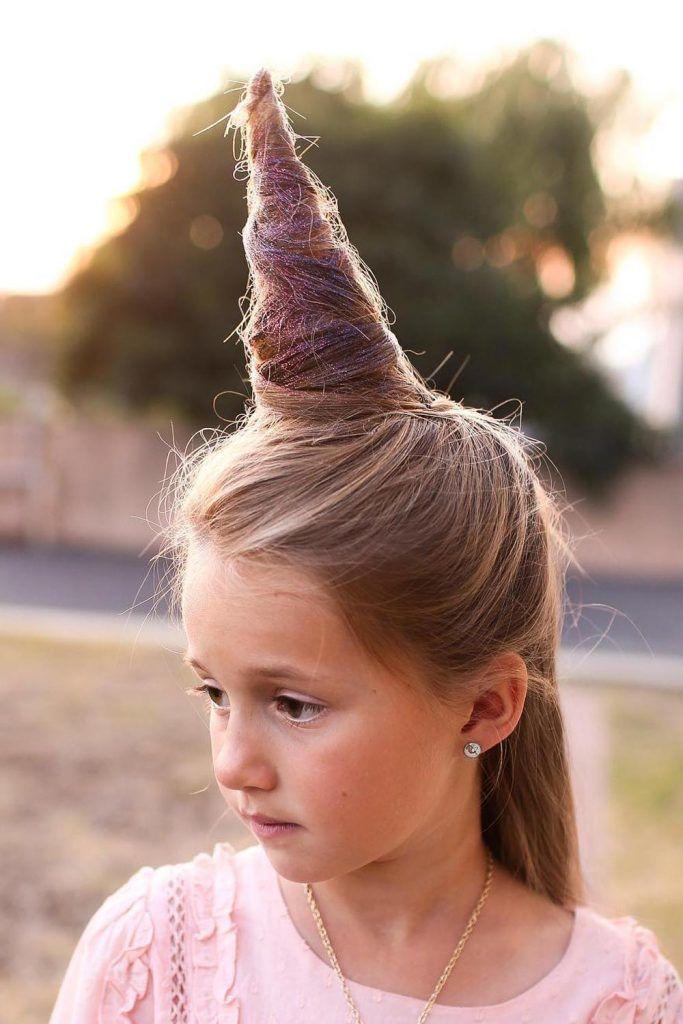 Unicorn Crazy Day Hair