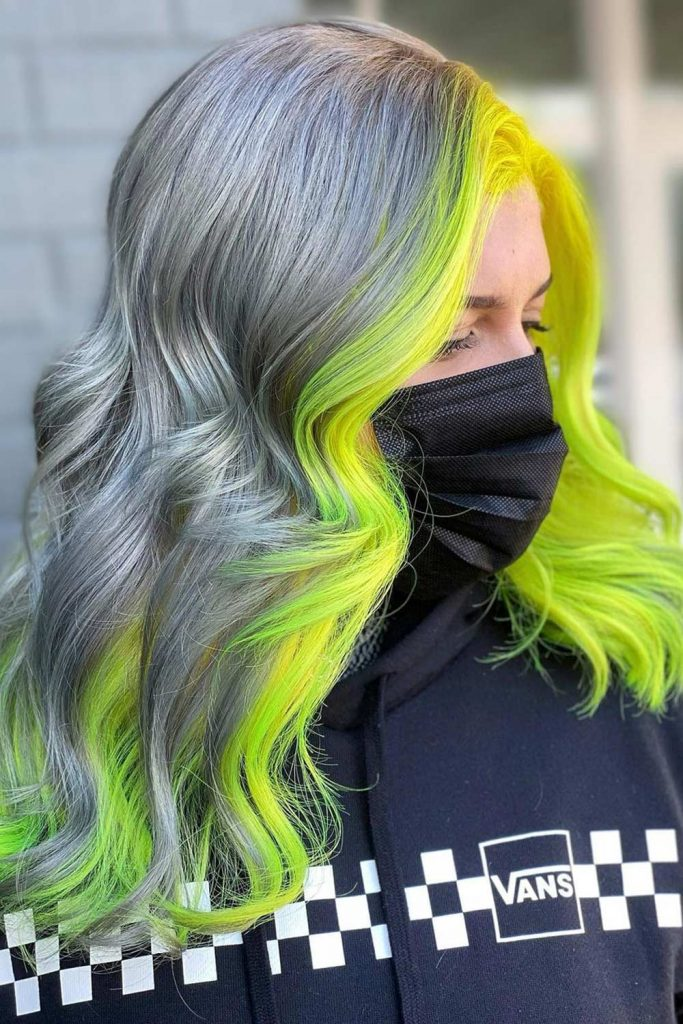YellowHair Highlights  Long Hair