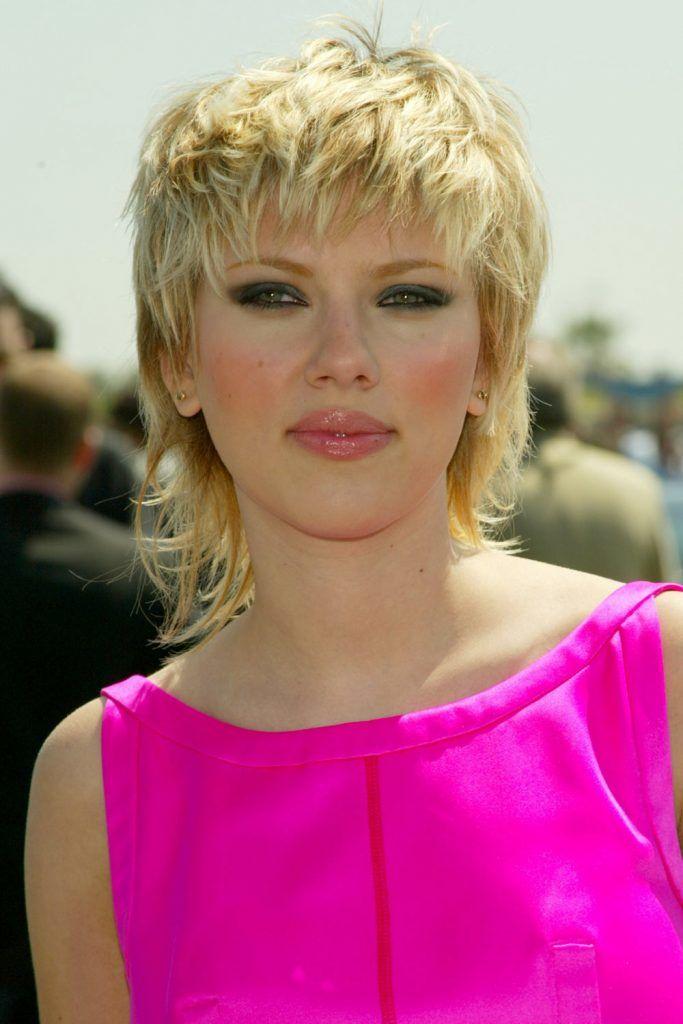 Scarlett Johansson Mullet Haircut