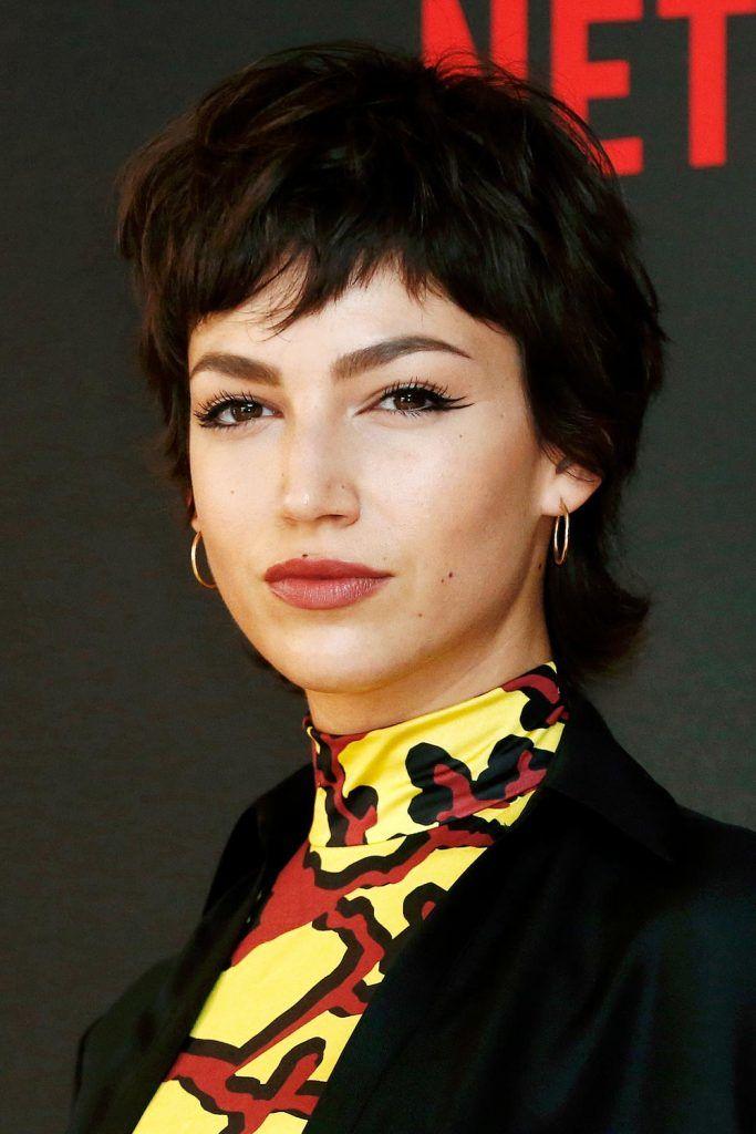 Ursula Corbero Mullet Haircut