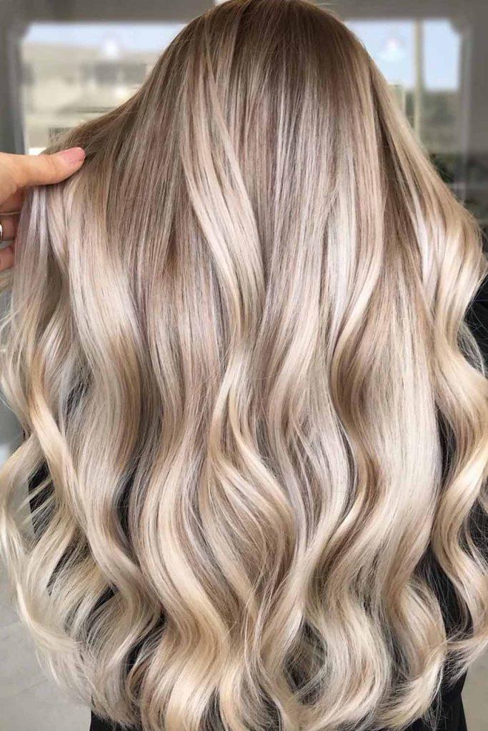 Latte Blonde Hair