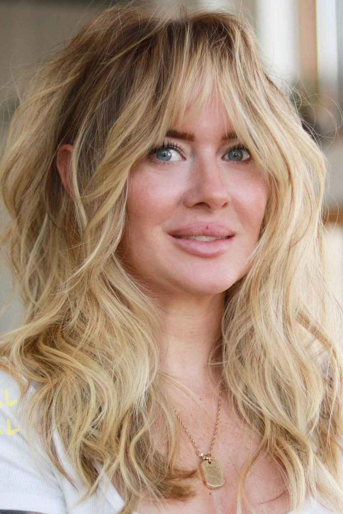 Bohemian Chic Shag Haircuts For Square Faces