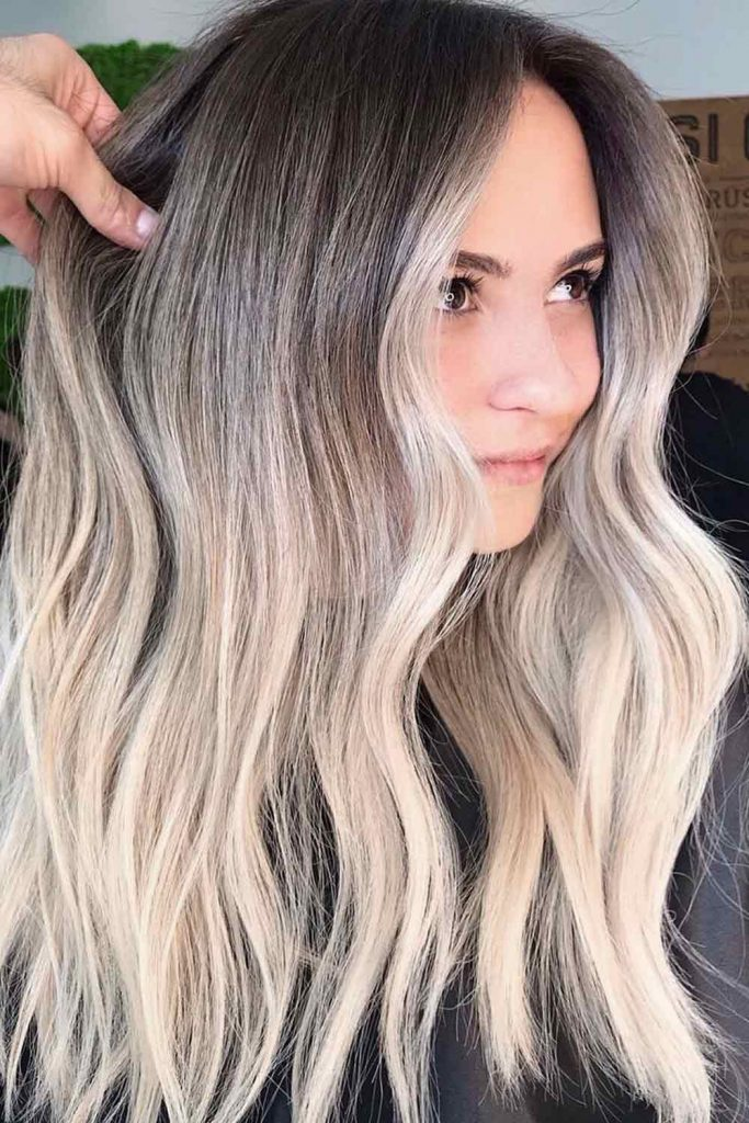Cold Tones For Your Dark Hair