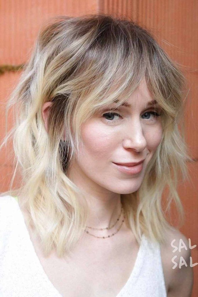 Blonde Ombre Hair With Slightly Cooler Shades