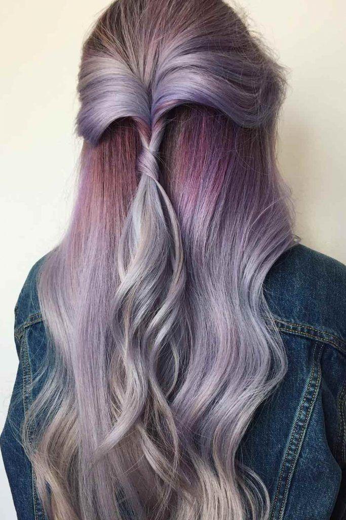 Chic Lavender Ombre