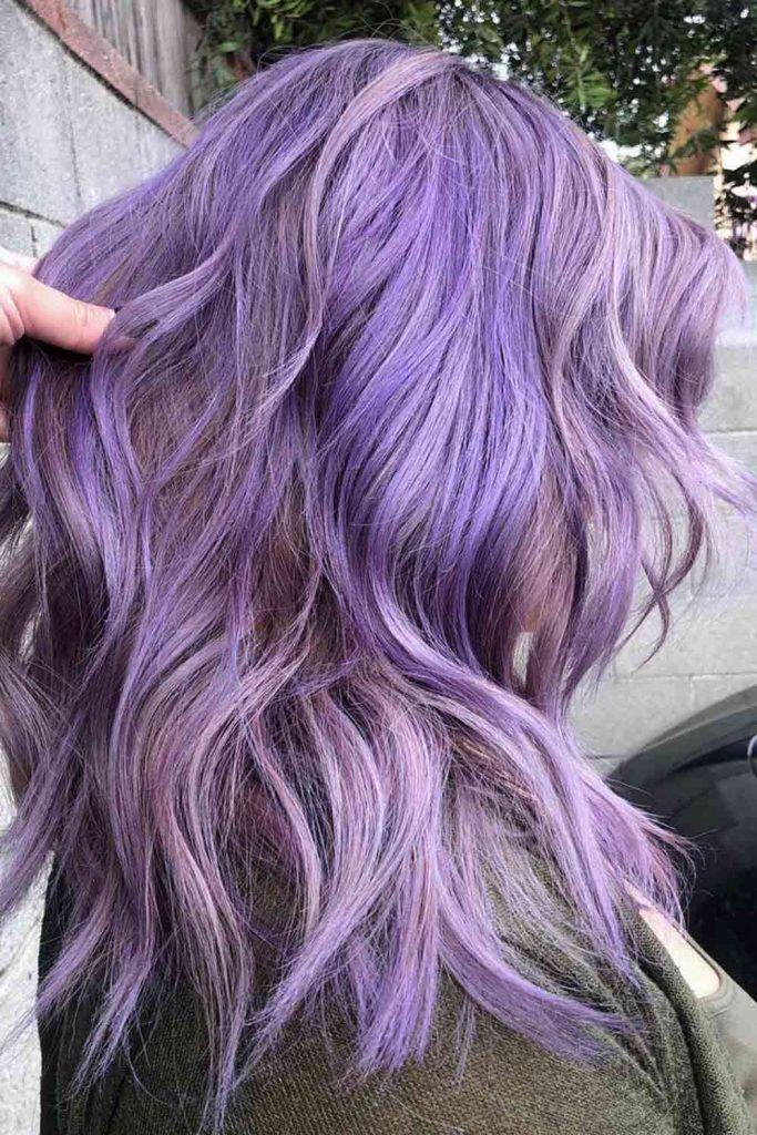 Multidimensional Lavender Highlights
